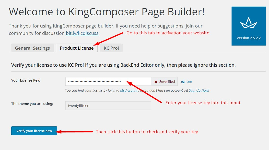 Kingcomposer license key